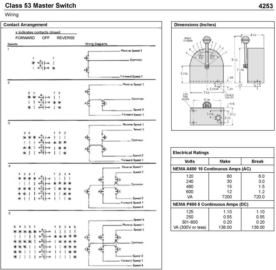 Fancy Reversing Drum Switch Wiring Diagram Image Collection - Best ...
